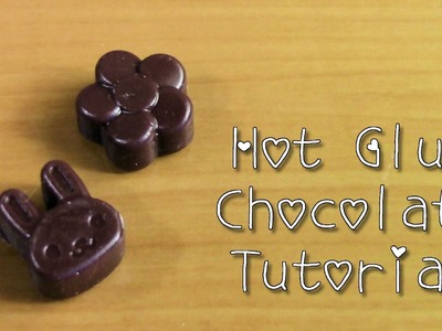 Sweets Deco: Hot Glue Chocolate Tutorial