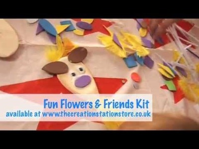 The Creation Station Fun Childrens Garden Flowers Art and Crafts