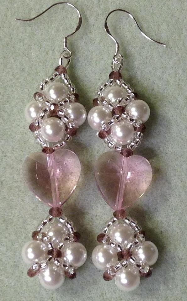 Valentines' Day Caged Heart Earrings!