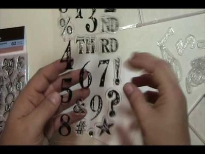 Video #27 Storage Tips for Clear Stamps