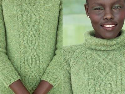 #10 Cable Raglan Dress, Vogue Knitting Fall 2011