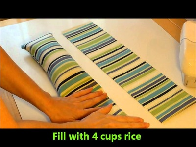 12 DIY Days of Christmas 12 Warming or Cooling Rice Bag