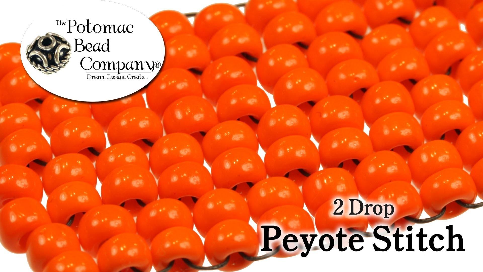 2 Drop Peyote Stitch