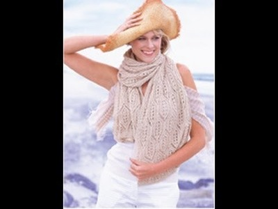 #20 Lace Stole, Vogue Knitting Spring.Summer 2010