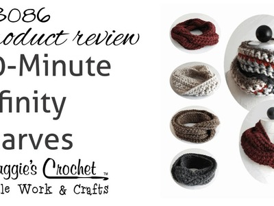 30 Minute Infinity Scarves Product Review PB086