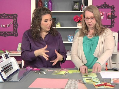 401-1 Jenn Mason shows how to create a card featuring a photograph on Scrapbook Soup