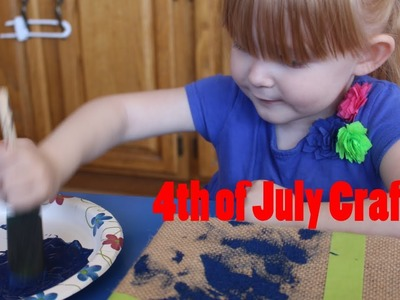 4th of July Crafts to do with your toddler!