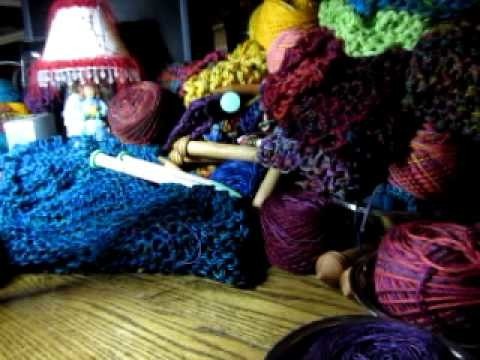 7. Chain Knitting with Beads - Part 1