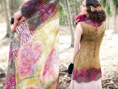 #8 Sheath and Wrap, Vogue Knitting Early Fall 2011