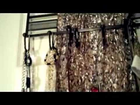 AWESOME!!! DIY MY TAKE ON HOW TO ORGANIZE YOUR JEWELERY AND PERFUMES MISSLUNAFIVE