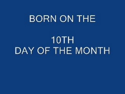 BORN ON THE 10th DAY OF THE MONTH, Numerology