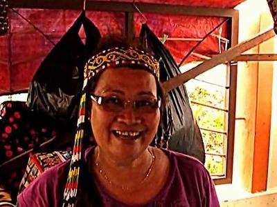 Borneo indigenous craftwork-Bead works & handicrafts of Sarawak