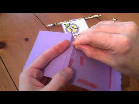 Cool paper Crafts: How to Make a Match Box Post It Holder with Pencil
