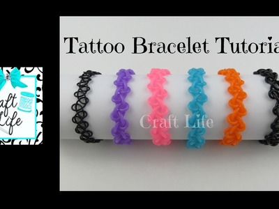 Craft Life ~ Tattoo Stretch Bracelet Tutorial