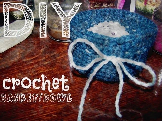 Crochet Basket Tutorial - Easy For Beginners