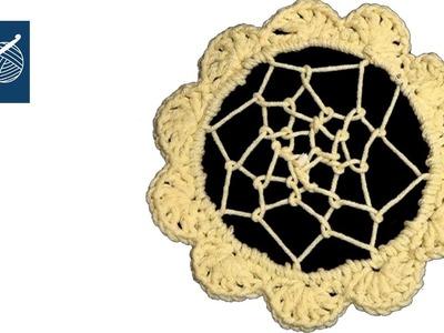 Crochet Dream Catcher Left Hand