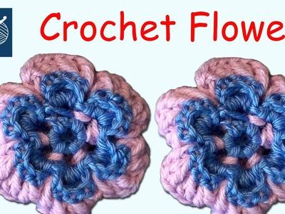 Crochet Flower Marlow Left Hand Crochet Geek