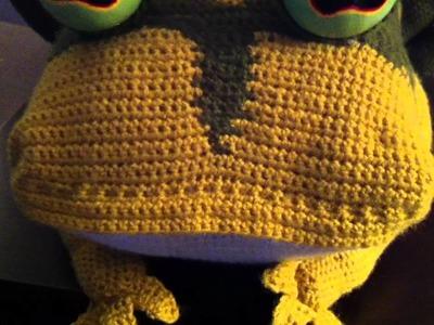 Crochet Hypnotoad - A Tribute to Futurama