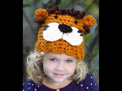 Crochet Lion Hat - Video 1