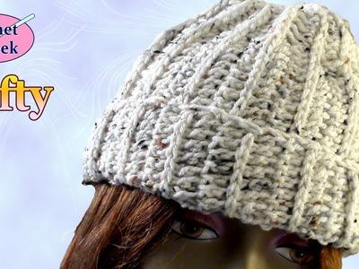 Crochet Stocking Hat - Left Hand Crochet Crochet Geek