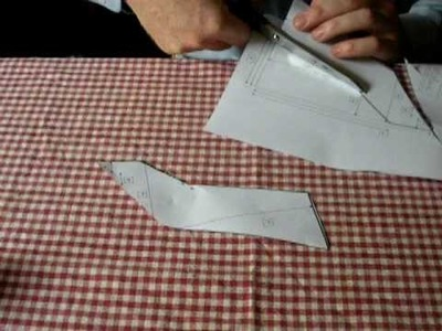 Cut Out the Pattern for the Walkalong Glider