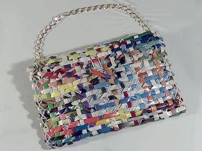 DIY - Bolsa carteira de revista - Handbag Wallet Magazine - Revista Purse