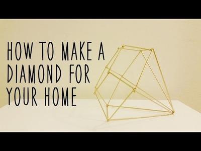 ♥ DIY Diamond Home Decor Piece ♥