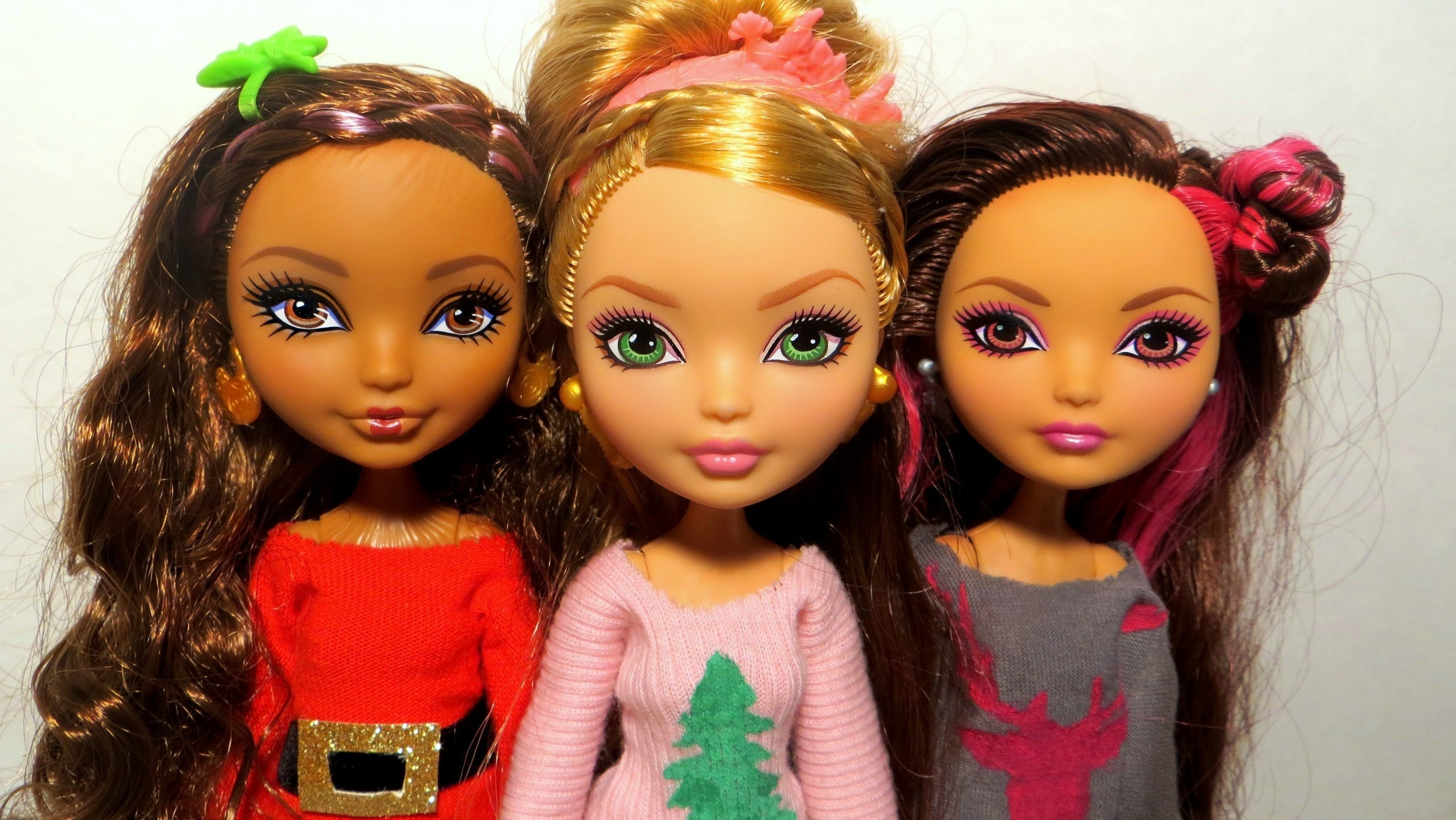 DIY Doll Holiday Sweater Tutorial