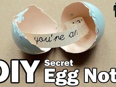 DIY Hidden Easter Egg Message - Man Vs.Pin - Pinterest Project #12