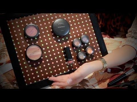 DIY: Magnetic Makeup Frame