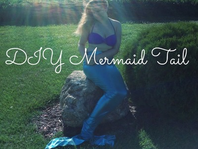 DIY Mermaid Tail (That you can swim in!)