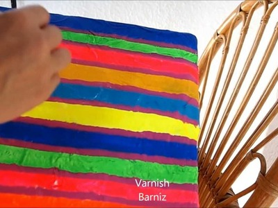 Diy Papier Mache Box - Manualidades: Caja de Papel Maché