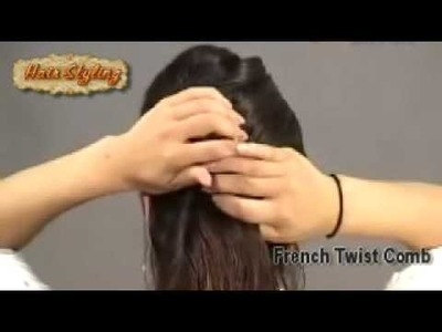 Easy Hair DIY with a French Twist Comb 03