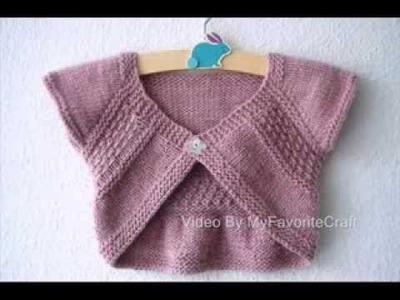 Entrechat Pattern - Knit Sweater Pattern Presentation