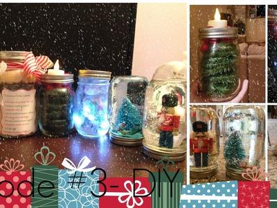 Episode #3:  DIY Mason Jars (Gifts & Decorations)