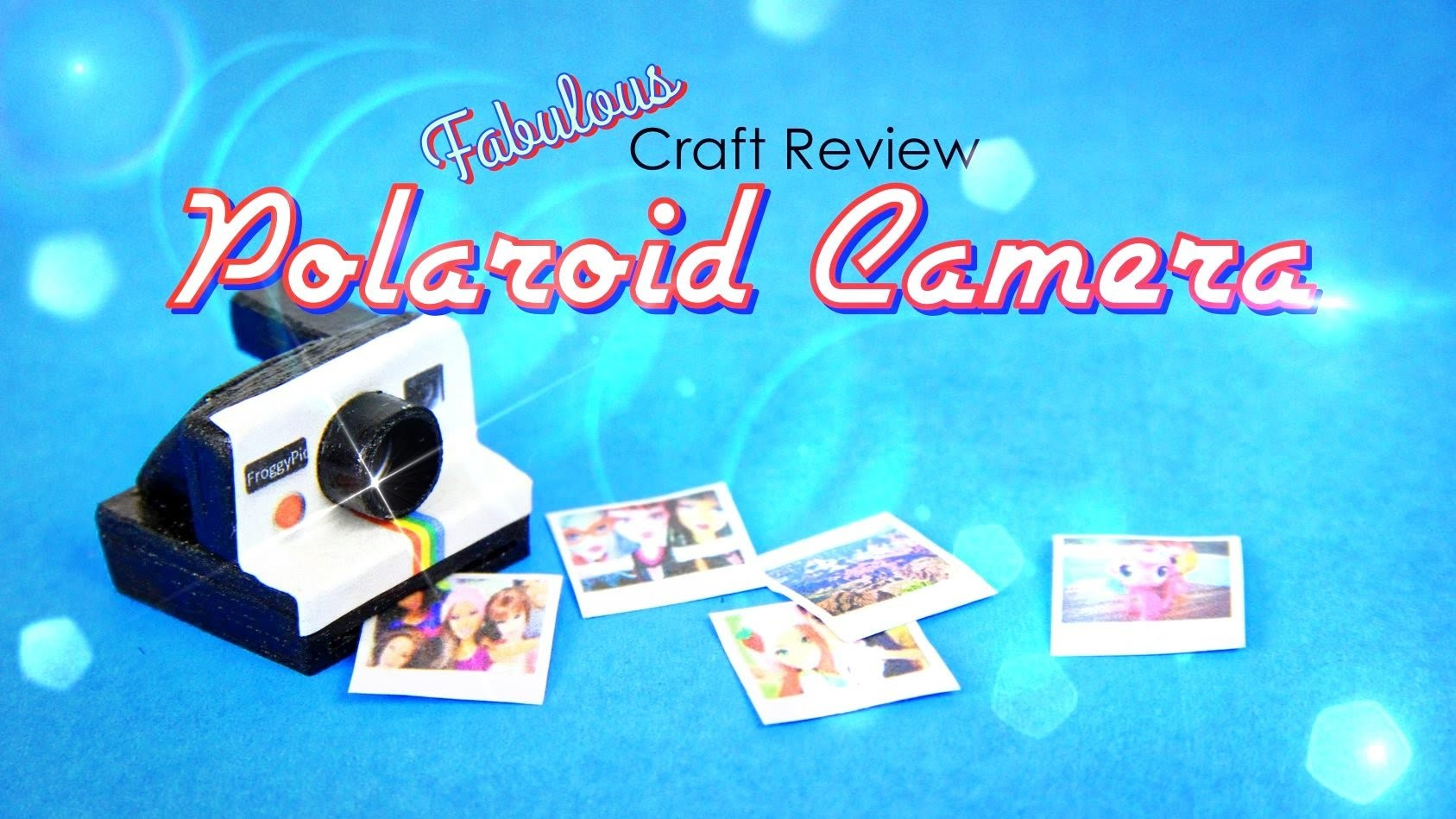 Fabulous Craft Review: Polaroid Camera