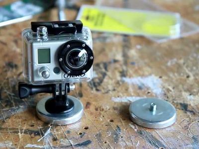 GoPro Hero Magnet Mount DIY part 2