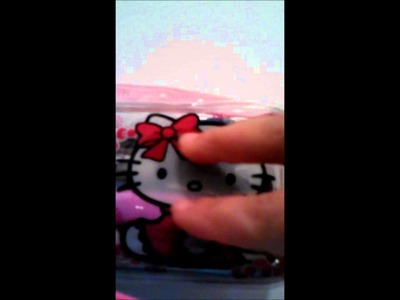 HELLO KITTY CROCHET HEAD ,CABEZA DE KITTY