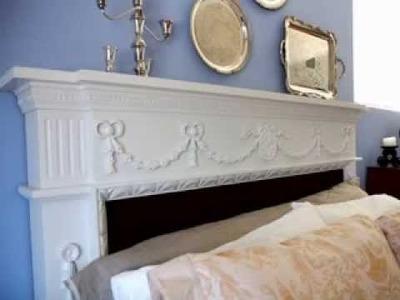 Homemade DIY headboard ideas for queen beds