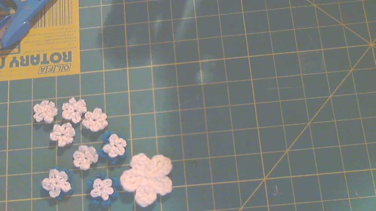 How to Crochet 5 petal Flowers!