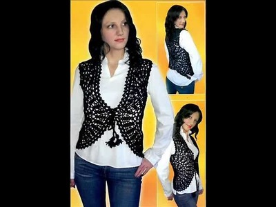 How to crochet shrug bolero easy free pattern