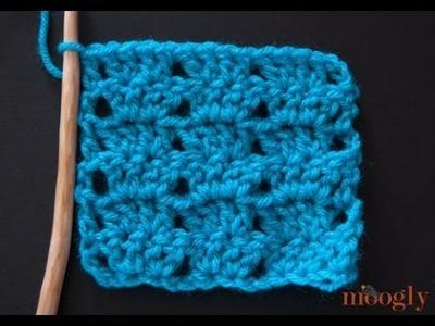 How to Crochet: Twin V Stitch