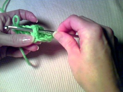 How to Crochet - Working around the Post of a Crochet Stitch
