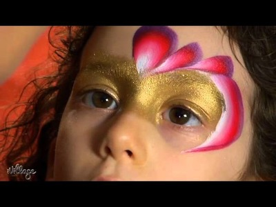 How To Do Princess Face Paint for Kids