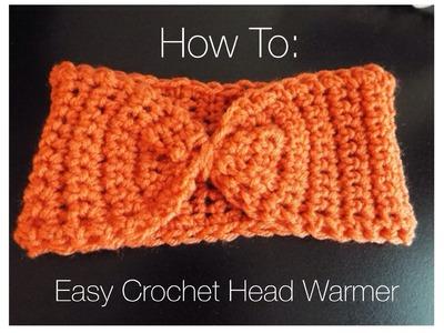 ♡ How To: Easy Crochet Head Warmer