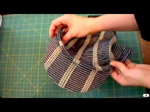 How To Make a Brimmed Beanie, Male Fashion, ThreadBanger