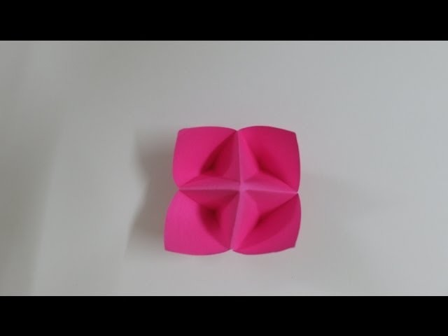 How To Make A Paper Fortune Teller ( Step By Step). Paper Games Origami Flower