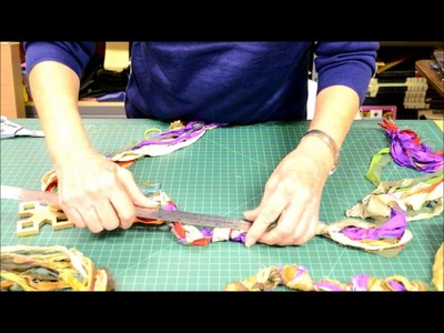 How to Make a Scarf.Necklace