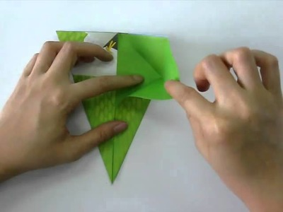 How to make - Origami Love Bird