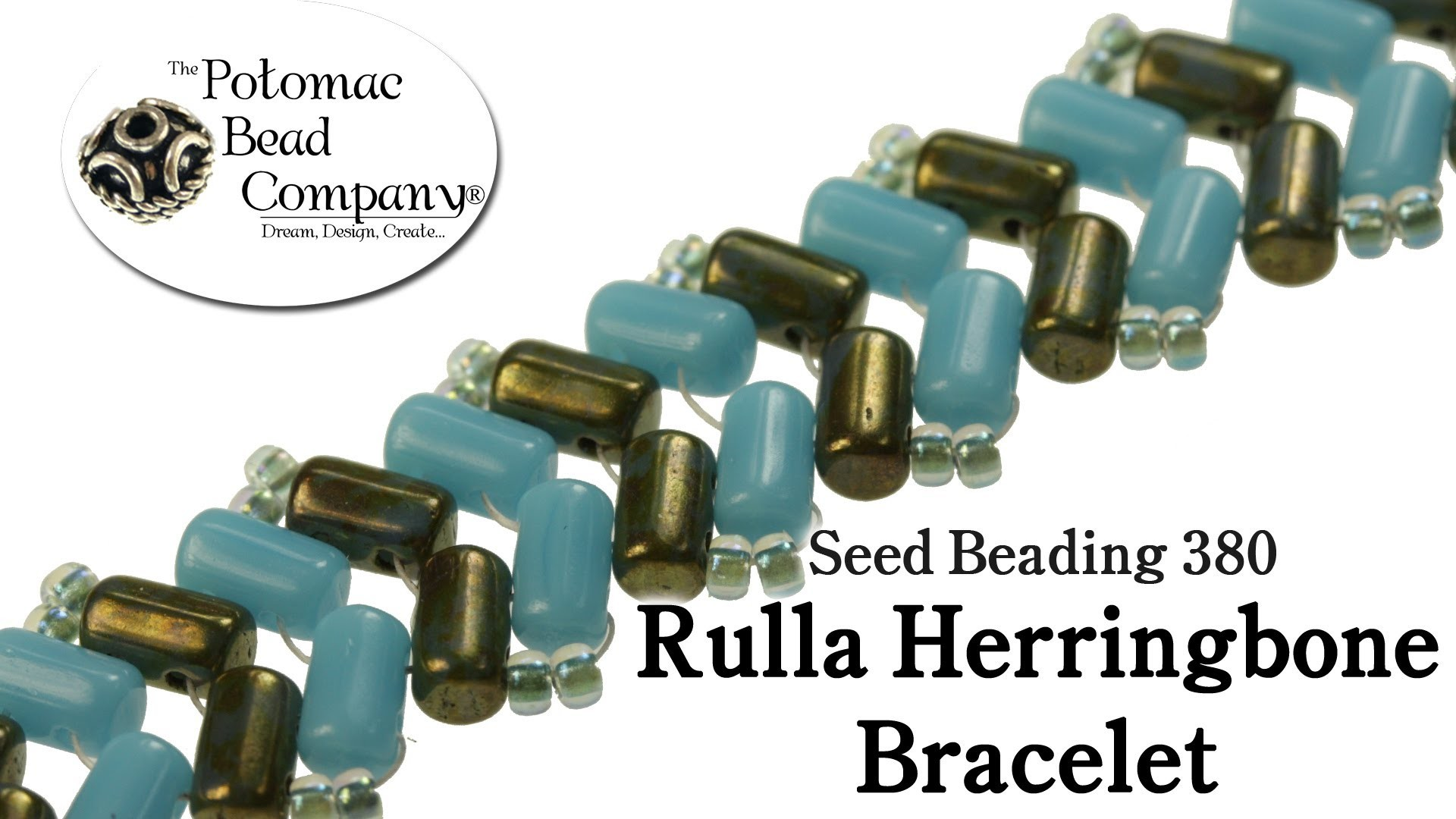 How to Make Rulla Herringbone Bracelet